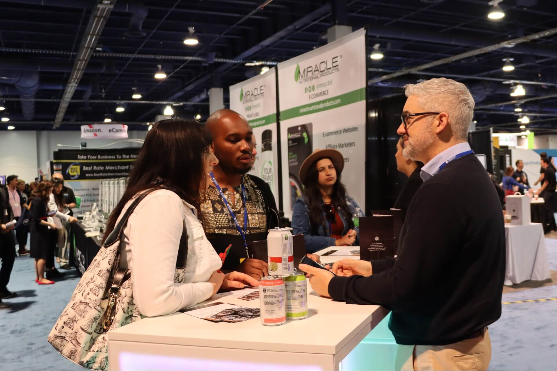 White label world expo las vegas 2021 exhibit | miracle nutritional products booth | white label world expo las vegas 2021